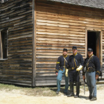 Three Union Soldiers.