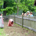 Diane Smith, Historic Interpreter Teaches Gardening of the 19th Century.