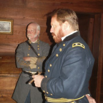 Generals Johnston and Sherman