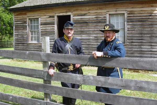 General Sherman and an Union Officer
